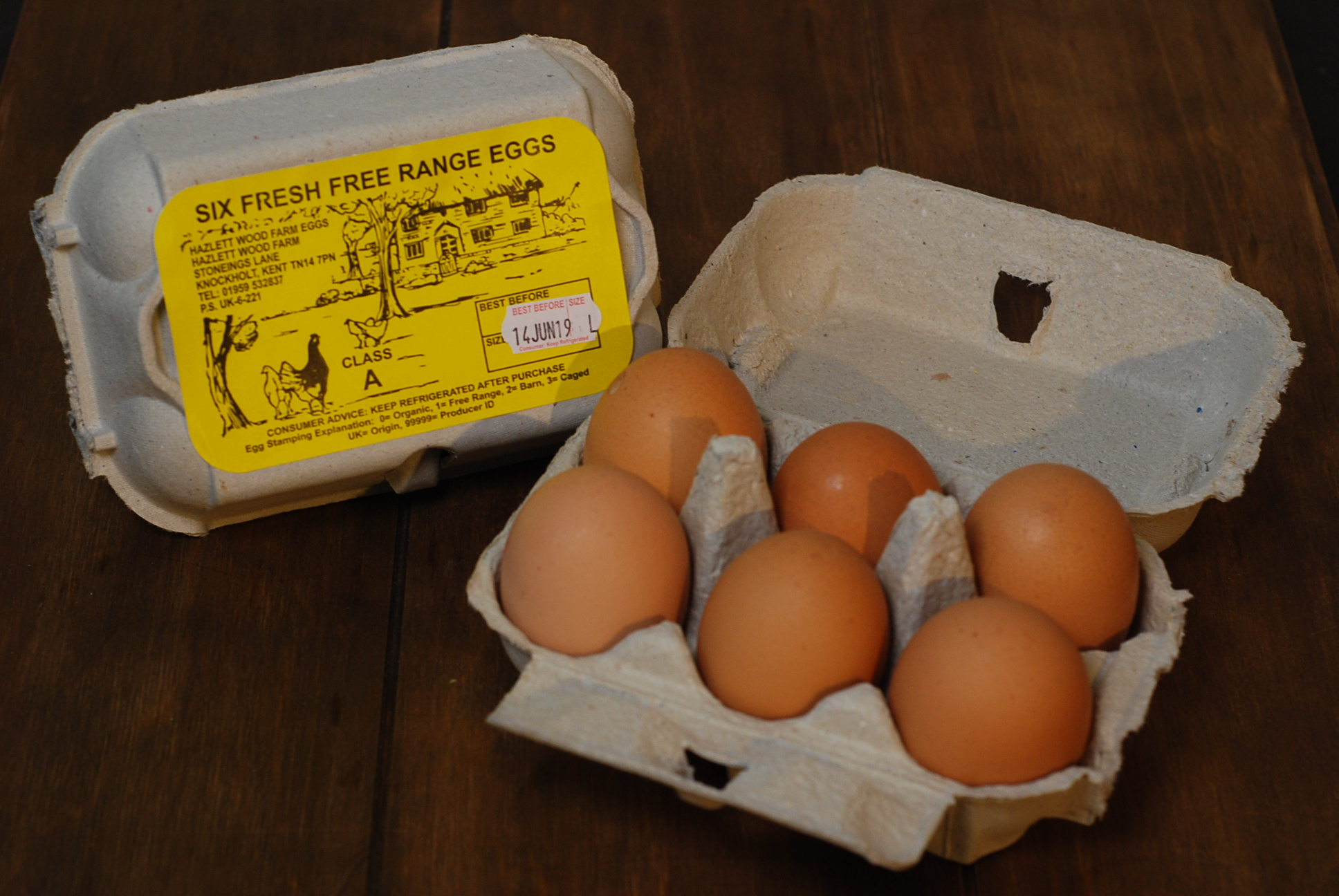 Fresh Local Eggs