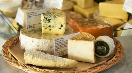 Cheese from Holwood Farm Kent