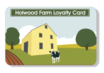 Holwood Farm loyalty card